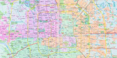 Beijing Peking Kartta Kartat Beijing Peking Kiina